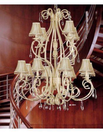 Lámpara Rococó