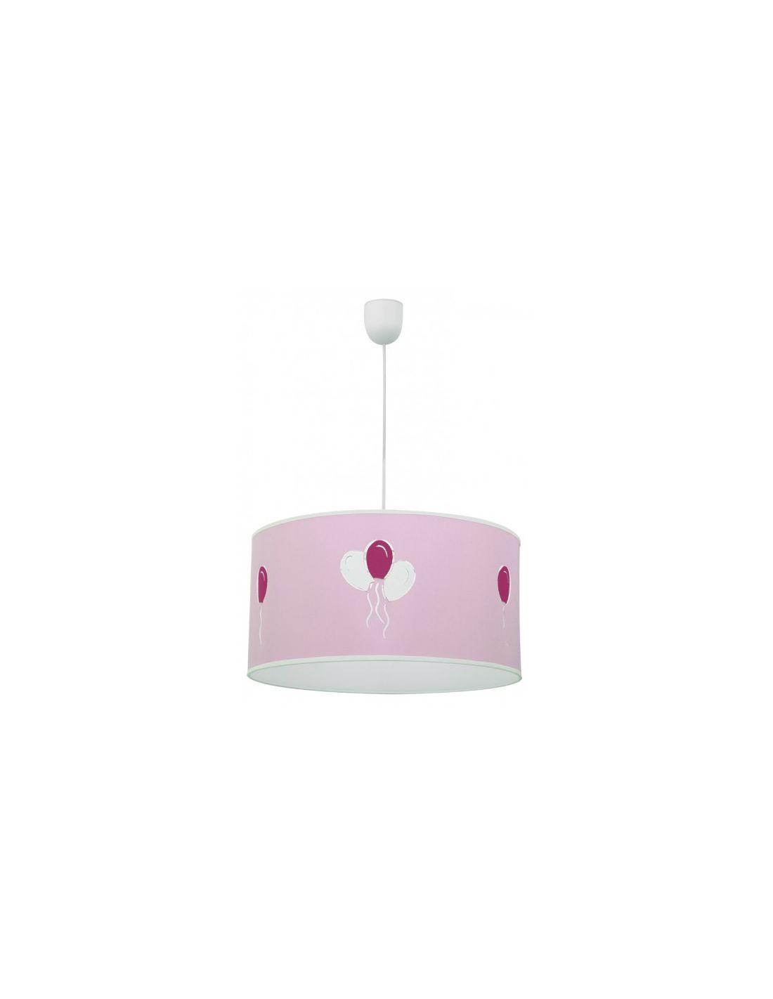 L mpara para ni as en color rosa ofertas - Lamparas de techo para ninas ...