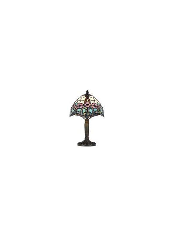 Lámpara de Mesa TIFFANY Multicolor