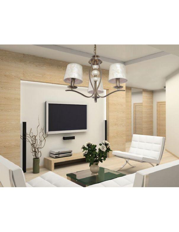 L mpara para recibidor oro y pantalla n car ofertas for Lamparas de techo para recibidor