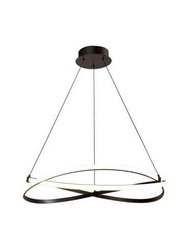 Lámpara Infinity Marrón Óxido