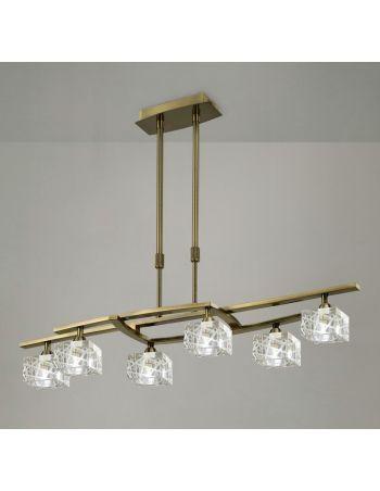 Lámpara de Techo Moderna 6 luces