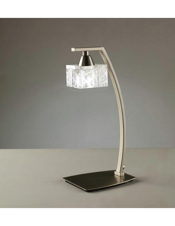 Lámpara de Mesa Níquel