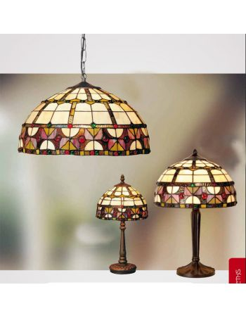 Lámpara Redonda TIFFANY