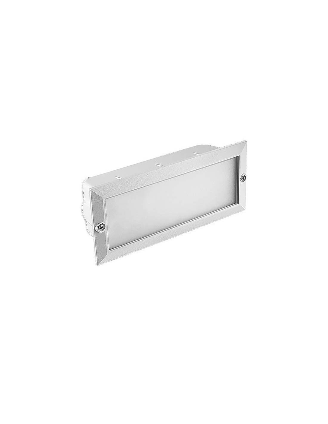 Empotrable para pared de exterior led blanco env o r pido y seguro - Focos empotrables exterior ...