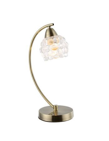 Lámpara de Mesa Cristal Glaseado