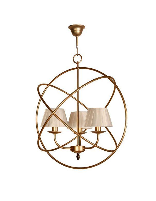 Lámpara Moderna Círculos Metal