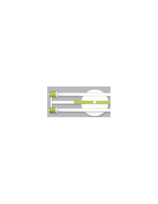 Plafón Fluorescente Verde