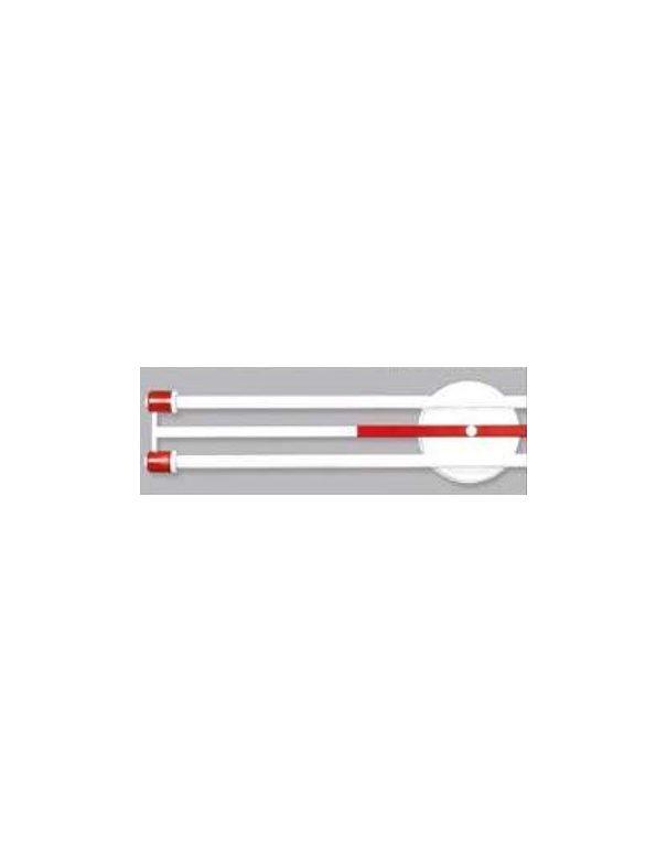 Plafones Fluorescentes Rojos