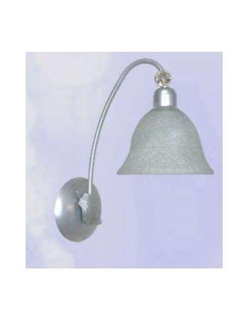 Lámparas Plateadas Pared