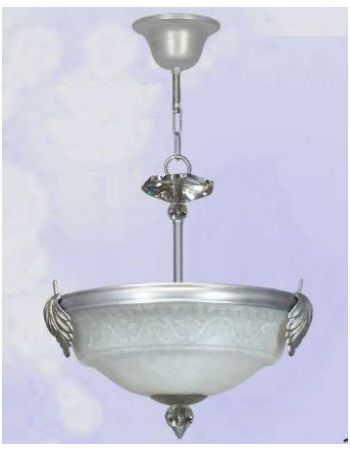 Lámpara Colgantes Plateada