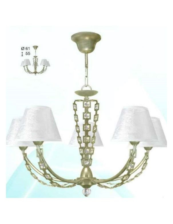 Lámparas Cristal Asfour