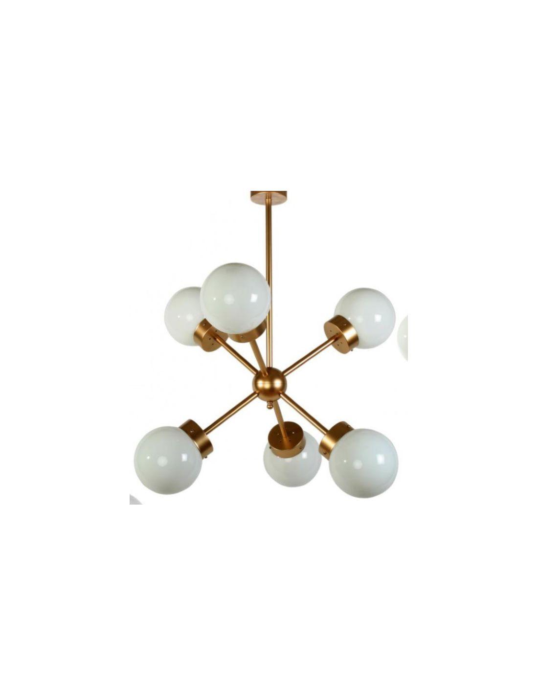 L mparas sputnik con tulipas opal o transparentes compra - Lamparas originales de techo ...