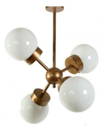 Lámpara Semiplafón de Techo Estilo Moderno