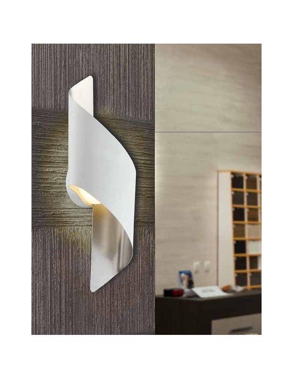 Aplique led blanco cromo env o r pido y seguro - Apliques de pared de diseno ...