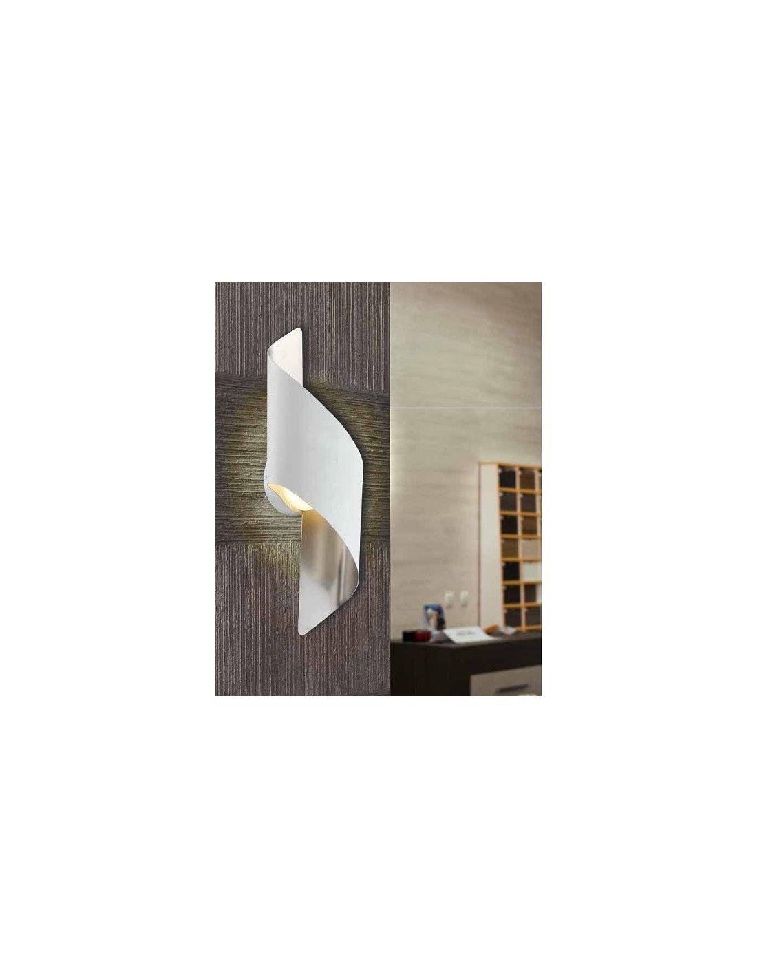 Aplique led blanco cromo env o r pido y seguro - Apliques pared diseno ...