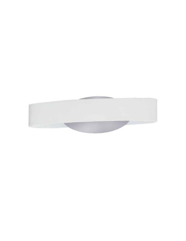 Apliques blanco y cromo led de dise o compra online o por - Apliques de pared de diseno ...
