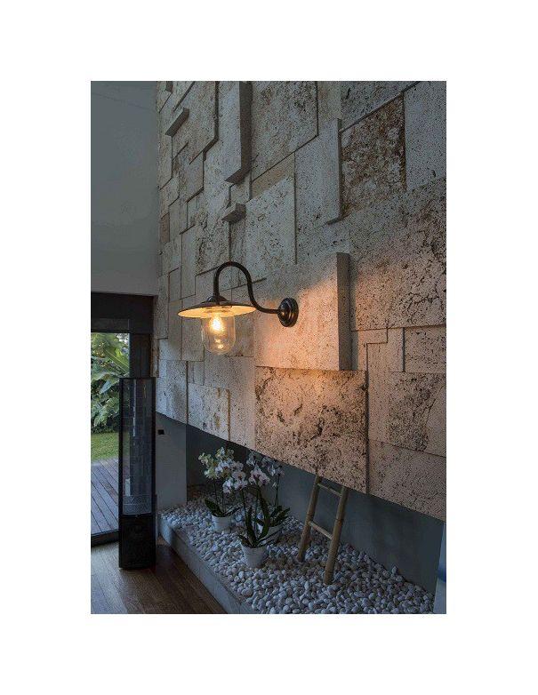 Aplique apto para interior y exterior estilo industrial - Comprar apliques ...