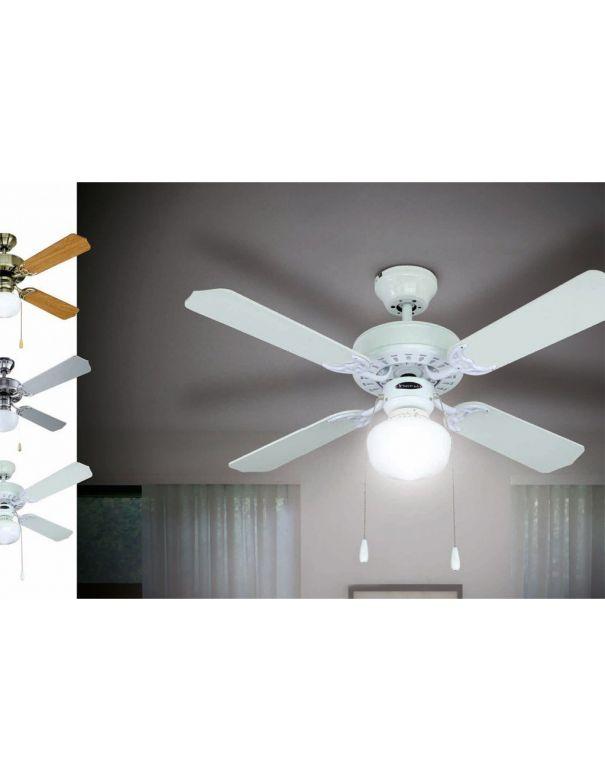Ventilador de techo blanco ofertas ventiladores env o for Oferta ventilador techo