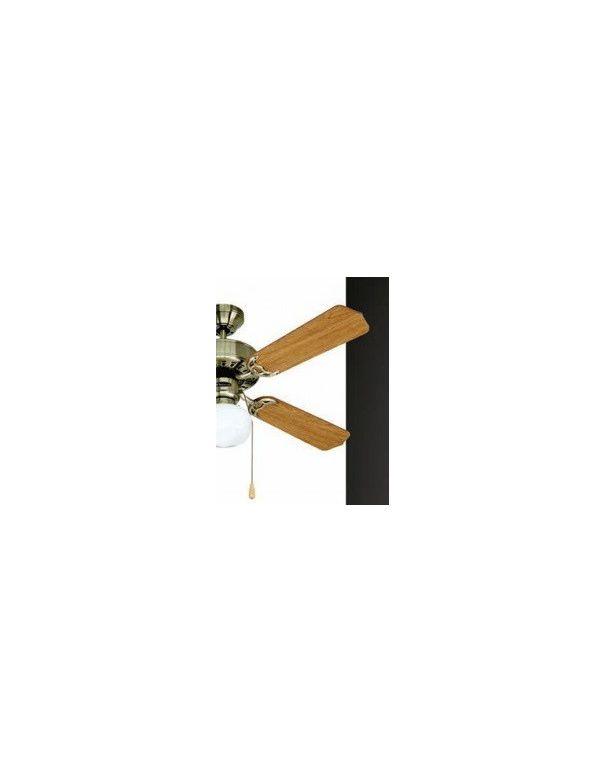 Rebajas en Ventiladores de Techo Disponible en Blanco, Cuero y Níquel