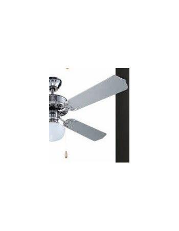 Ventiladores de Techo Disponible en Blanco, Cuero y Níquel