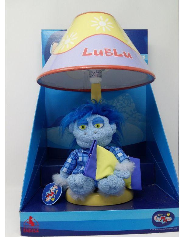 Lámpara Sobremesa Infantil Azul