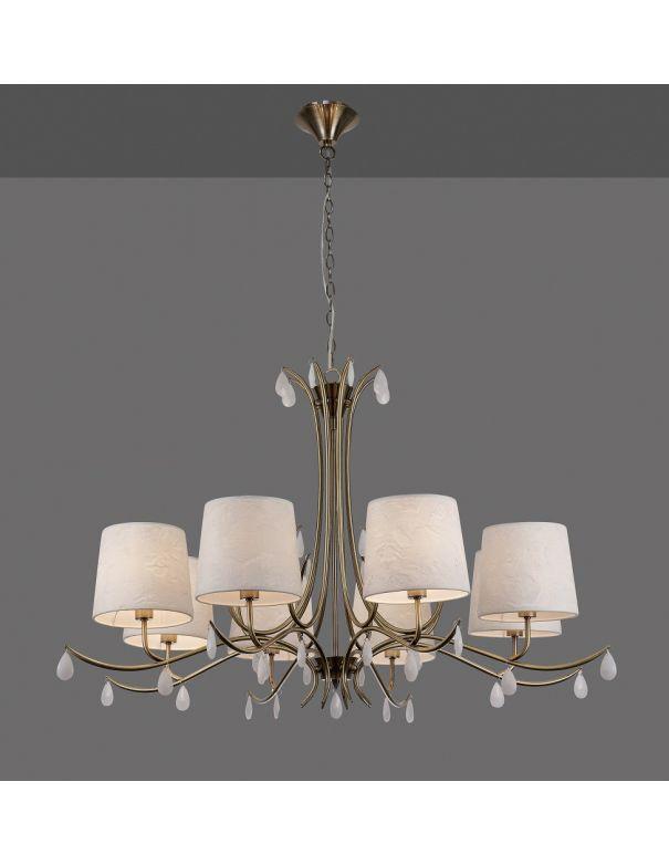 Lámpara de 8 luces