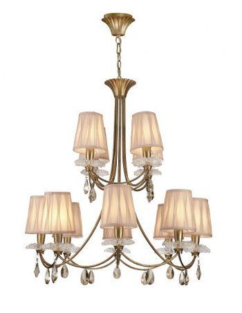 Lámpara Pantallas de Hilo de Seda
