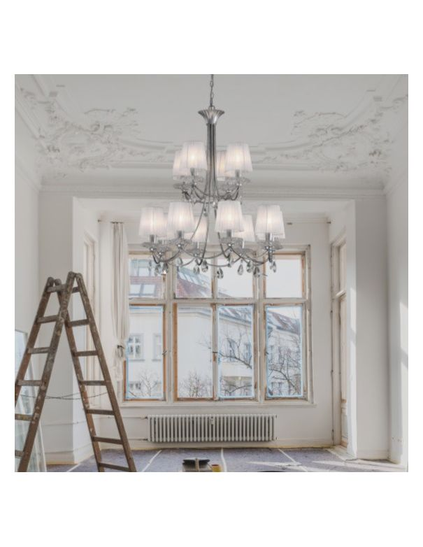 Lámpara clásica 2 pisos