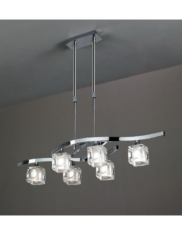 Lámpara de 6 luces Barata