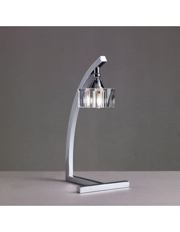 Lámpara de Mesa Cristal Óptico