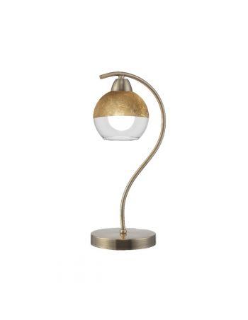 Lámpara Sobremesa Dorada