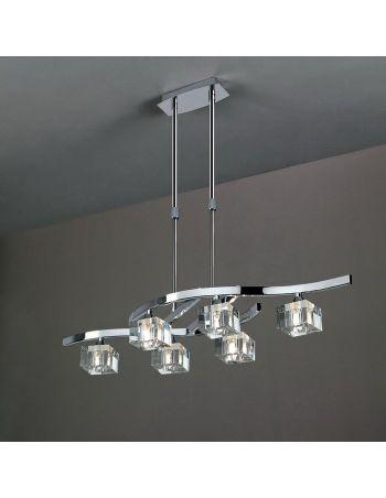 Lámpara de Techo Cristal Óptico