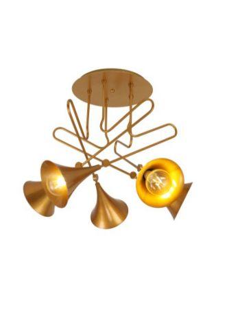 Lámpara Trompeta Plafón