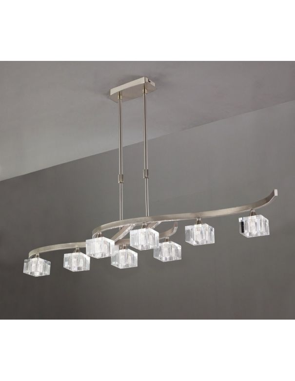 Lámpara Moderna Altura Ajustable