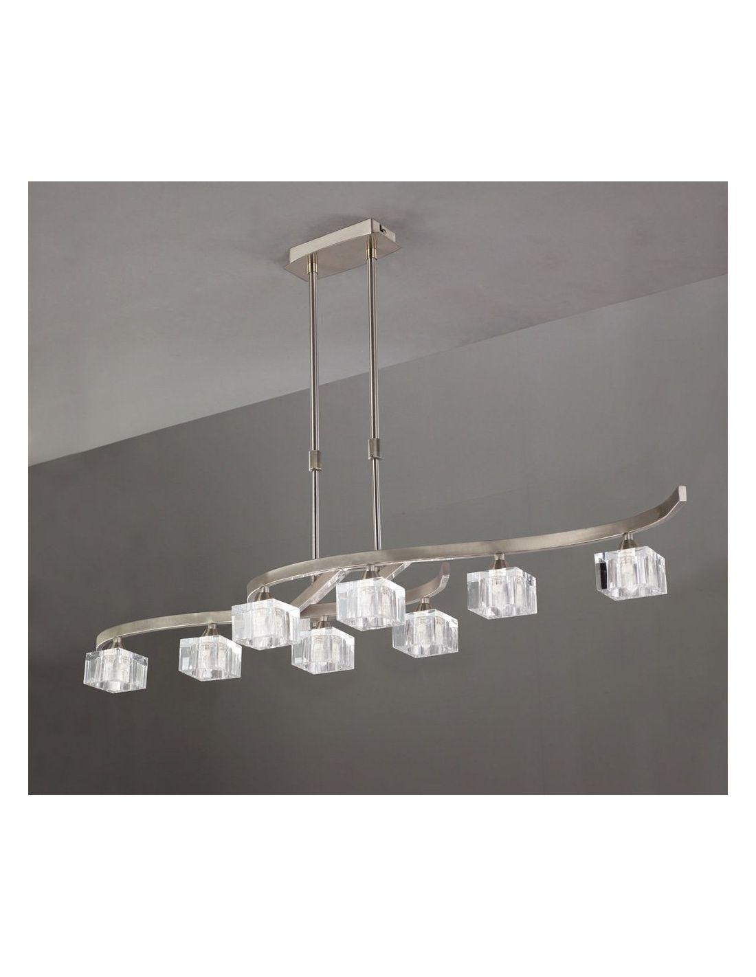 Tienda de lamparas lamparas en sevilla lamparas niquel - Lampara moderna techo ...