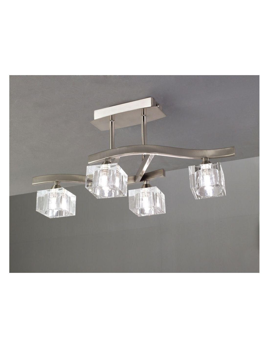 Tienda de lamparas lamparas en sevilla lamparas niquel - Halogenos de techo ...