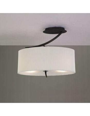 Lámpara Semiplafón OVALADO