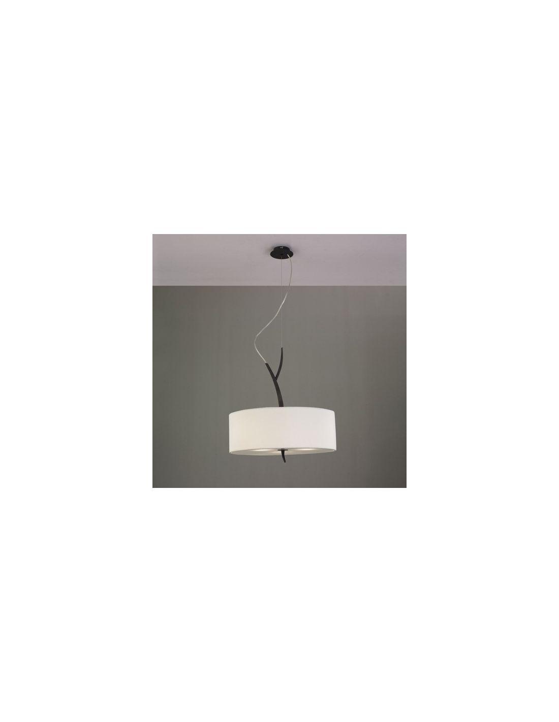 Lamparas con pantallas lamparas pantallas blanco roto lampara pantalla beige - Pantallas de lamparas ...