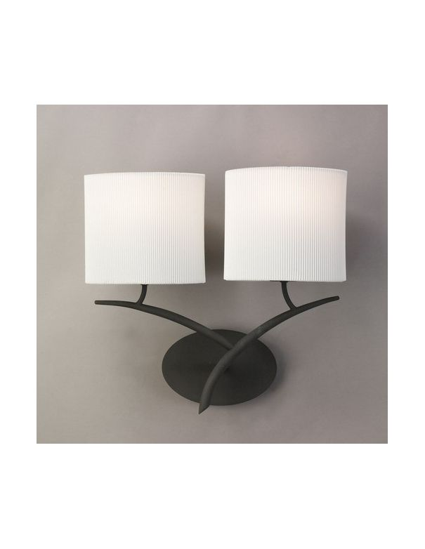 Lamparas con pantallas lamparas pantallas blanco roto for Paredes blanco roto