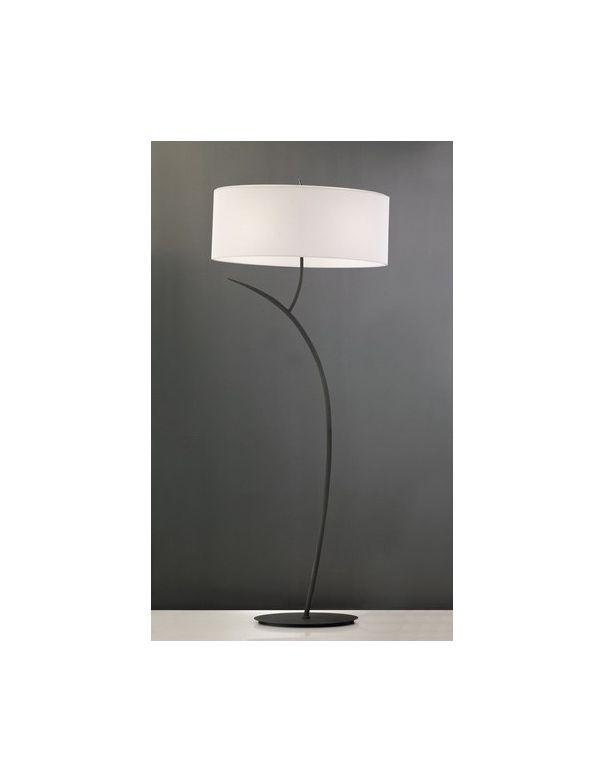 Lámpara de Pie Pantalla Blanco Roto