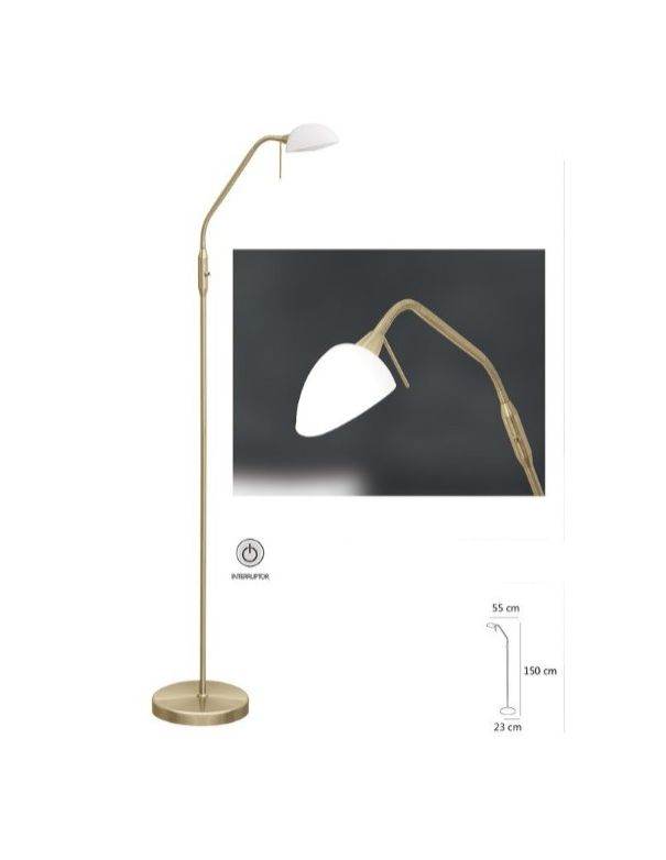 Lámpara de Pie Bajo Consumo