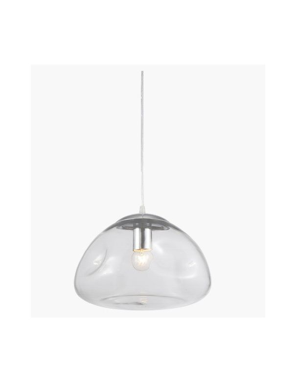 Lámpara Bola de Cristal Transparente