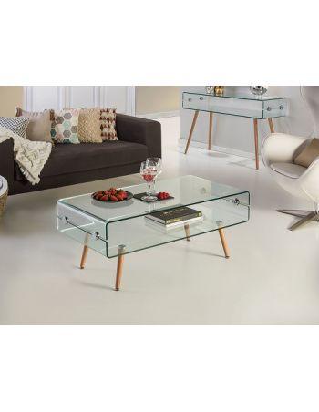 Mesa de Centro Glass Schuller