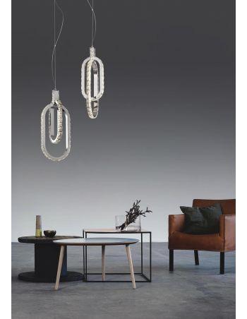 Lámpara Cristal Oval
