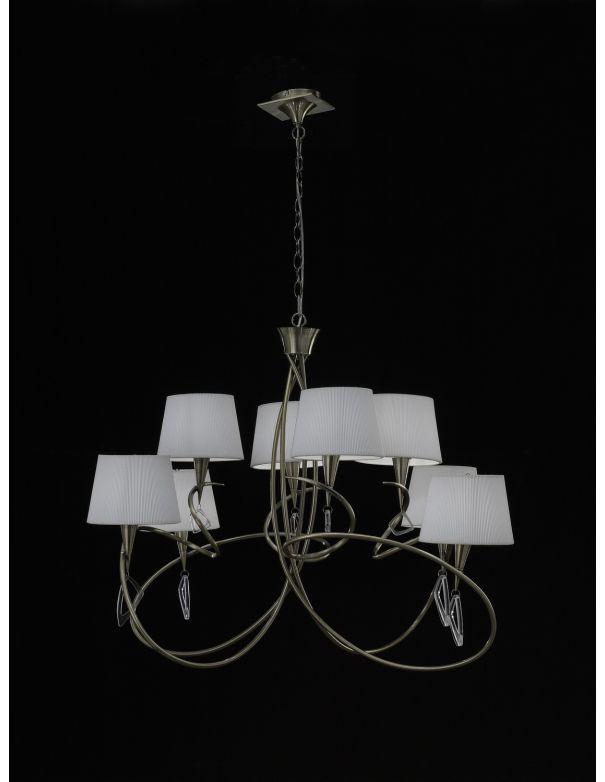 Lámpara de 8 luces Mantra
