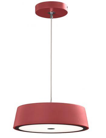 lampara de diseño roja