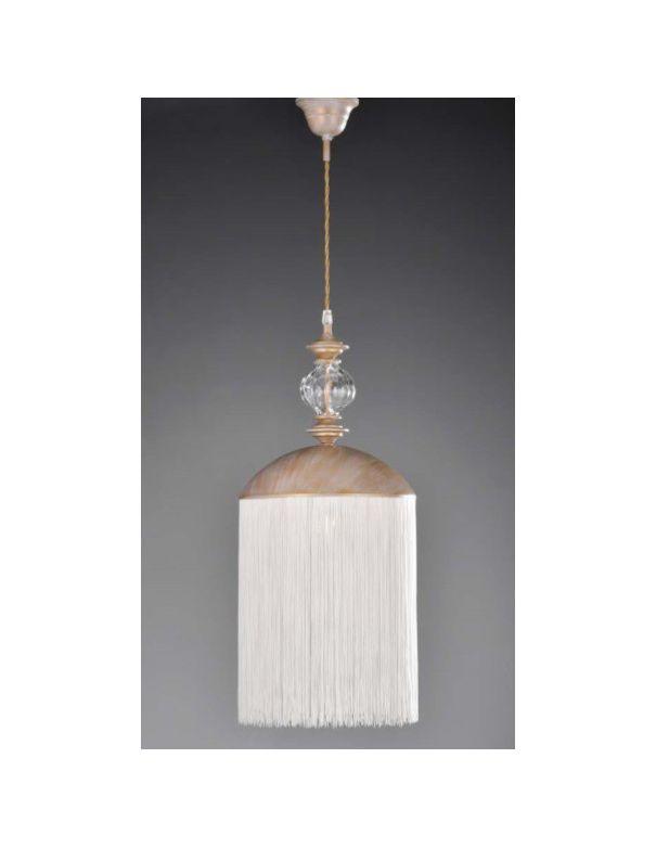 Lámpara Clásica con Flecos