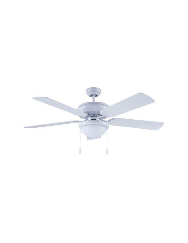 outlet ventiladores de techo blancos