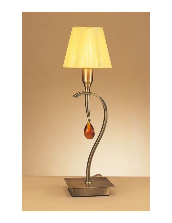Lámpara de Mesa Hilo de Seda